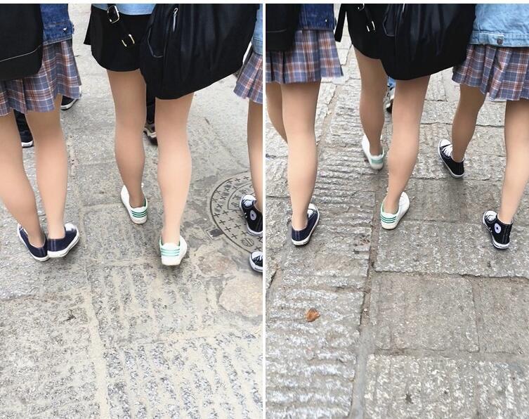 [短裙] 学妹的嫩腿好直真吸引眼球[170M/MOV]